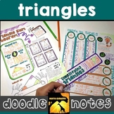 Triangles Doodle Notes