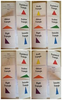 Triangles Flip Book