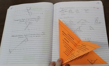 Triangles Foldable