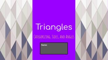 Triangles Google Slide Activity