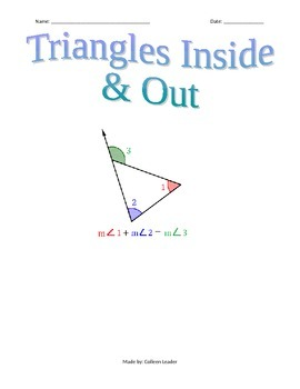 Triangles Inside & Out Practice