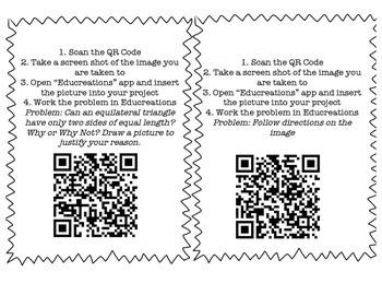 Triangles QR Codes