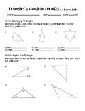 Triangles & Quadrilaterals Assessment