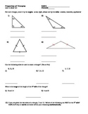 Triangles Quiz