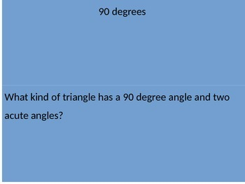 Triangles Review