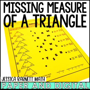Triangles Riddle Activity