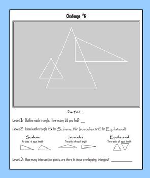 Triangles:  Scalene, Isosceles or Equilateral?