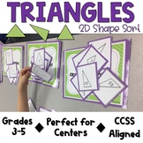Triangles: 2D Shape Sort with Shape Cards