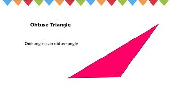 Triangles TEK 4.6c
