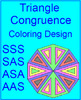 TRIANGLES:  CONGRUENT TRIANGLES 5 MAZES - SSS,ASA,etc, 20 TASK Cards, TOOL KIT