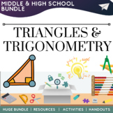 Triangles & Trigonometry Math Resources Activities