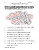 Triangles Vocabulary Word Cloud Word Bank Handout Geometry