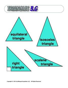 Triangles Wall Poster, 3.G