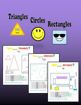 Triangles and Circles and Rectangles