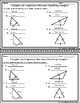 Triangles and Congruency Unit  Mini-Quizzes