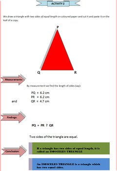 Triangles and Its Types