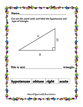 Triangles and Pythagorean Theorem