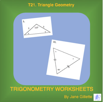 Triangles and Trigonometry