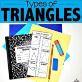 TRIANGLES: Types of Triangles & Triangles by Their Angles