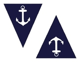 Triangles for DIY Nautical Banner