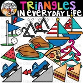 Triangles in Everyday Life Clipart {Triangles in real life