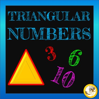 Triangular Numbers  Pack