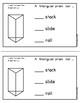 Triangular Prism (Emergent Reader)