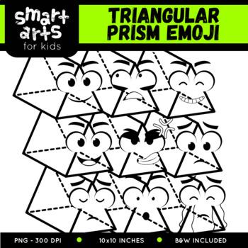 Triangular Prism Emoji Clip Art