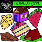 Triangular Prism Clipart {Creative Clips Clipart}
