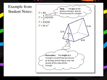 Triangular Prisms: Measuring Volume & Surface Area
