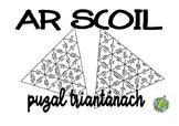Triangular Puzzle: Ar Scoil