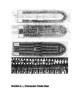 Triangular Trade Gallery Walk Lesson