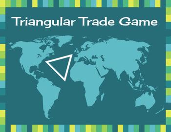 Mercantilism/Triangular Trade Game