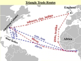 Triangular Trade Pack (PPT and Corresponding Notes)