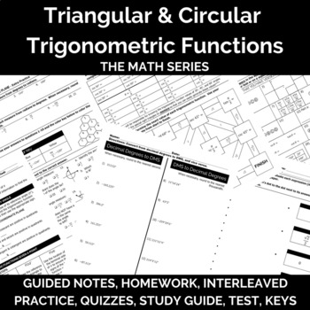 Trigonometric Functions (Introduction to Trigonometry) Unit