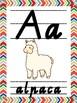 Tribal Alphabet Posters