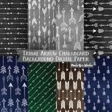 Tribal Arrow Chalkboard Backgrounds