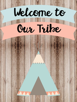 Tribal & Arrow Posters
