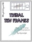 Tribal Blank Ten Frames