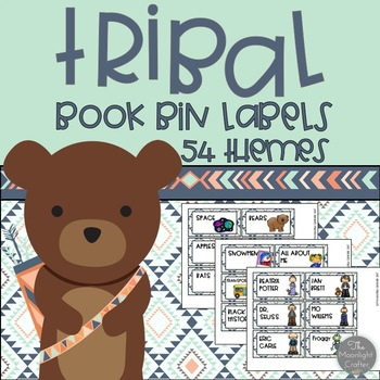 Tribal Book Bins Mint Edition