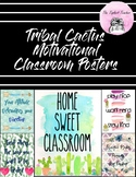 Growth Mindset Cactus Motivational Classroom Posters
