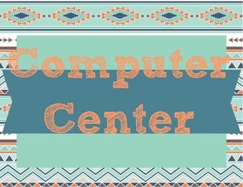Tribal Center Workshop labels