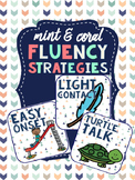 Mint & Coral Decor - Fluency Strategy visuals