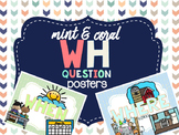 Mint & Coral - Wh Question Visuals