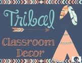 Tribal Classroom Decor
