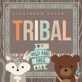 Tribal Classroom Decor BUNDLE