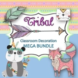 Tribal Classroom Decoration Kit-Editable!