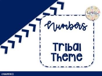 Tribal Classroom Numbers
