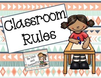 Tribal Classroom Rules