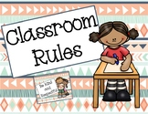 Tribal Classroom Rules